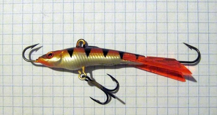 Балансира для зимней рыбалки своими руками